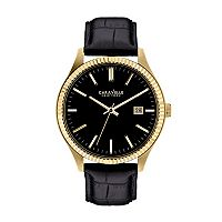 Caravelle New York by Bulova Men's Leather Watch - 44B106K