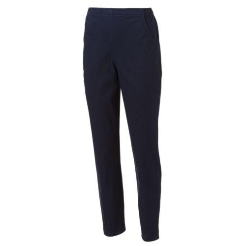 Croft & Barrow® Twill Pull-On Pants - Women's