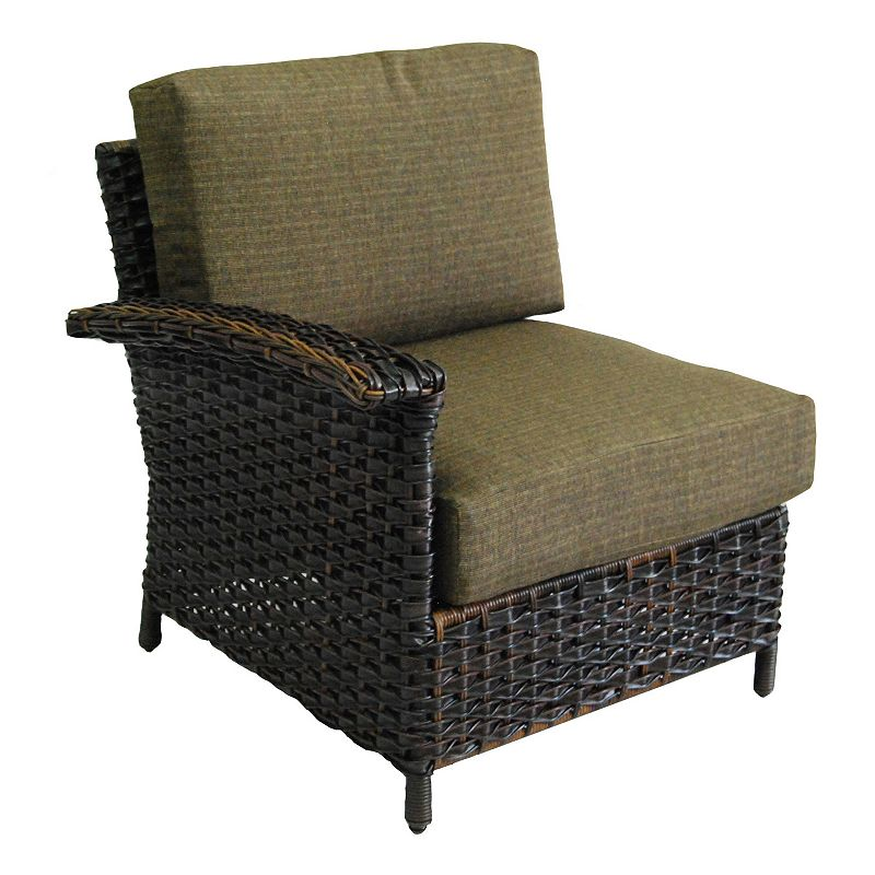 SONOMA Goods for Life™ Mendicino Wicker Right Arm Lounge Chair & Cushions