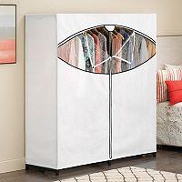 Whitmor Extra-Wide Clothes Closet