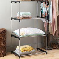 Whitmor Tall 4-Tier Closet Shelf