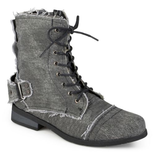 Journee Collection Zafrina Lace-Up Ankle Boots - Women