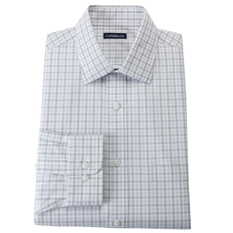 Big & Tall Croft & Barrow® Classic-Fit Dress Shirt