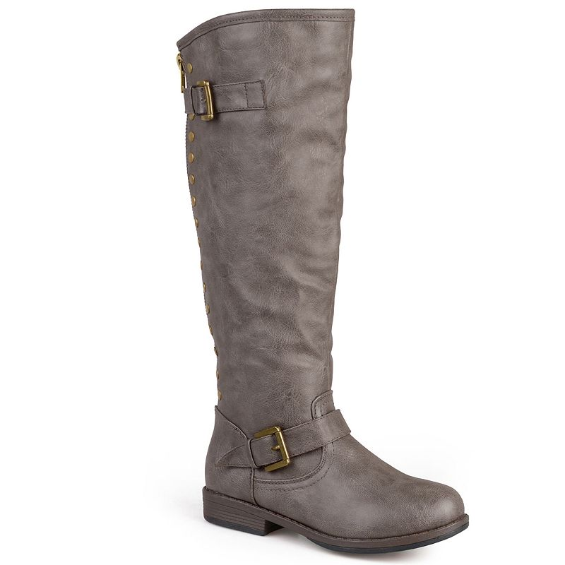 Journee Collection Spokane Women's Studded Tall Boots