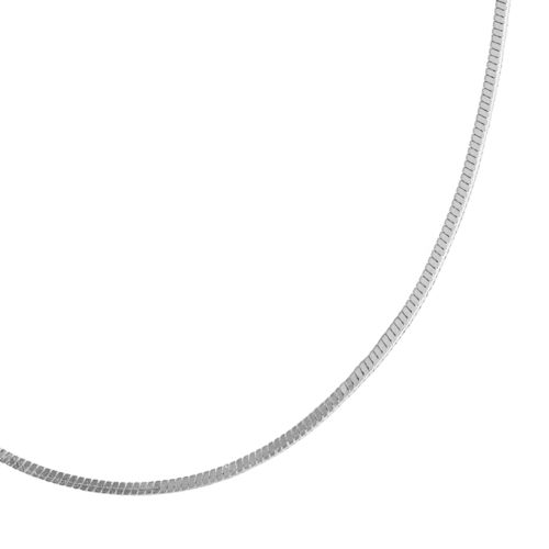 Sterling Silver Snake Chain Necklace - 20-in.