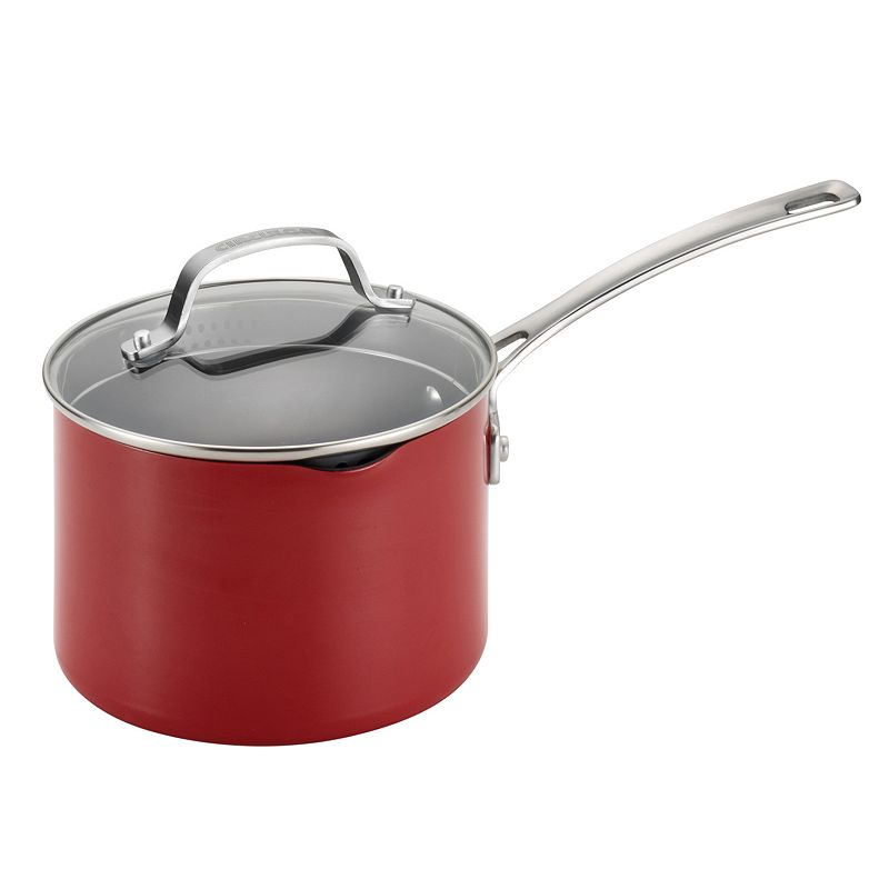 Circulon Genesis 3-qt. Nonstick Aluminum Covered Straining Saucepan