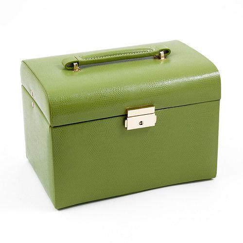 Bey berk leather jewelry box and travel case set for Bey berk jewelry box