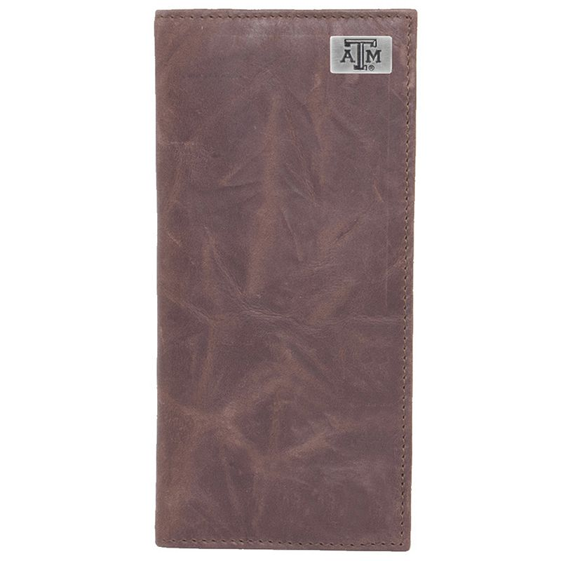 Texas A and M Aggies Leather Secretary Wallet