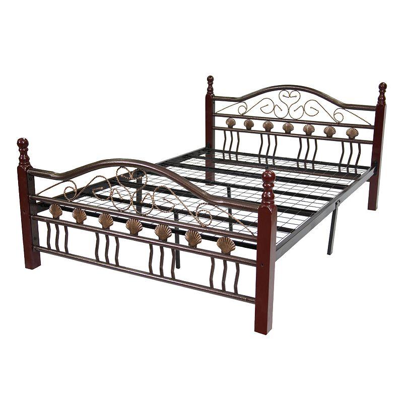 Metal Bed Frame - Queen