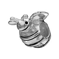 Individuality Beads Sterling Silver Bee Bead