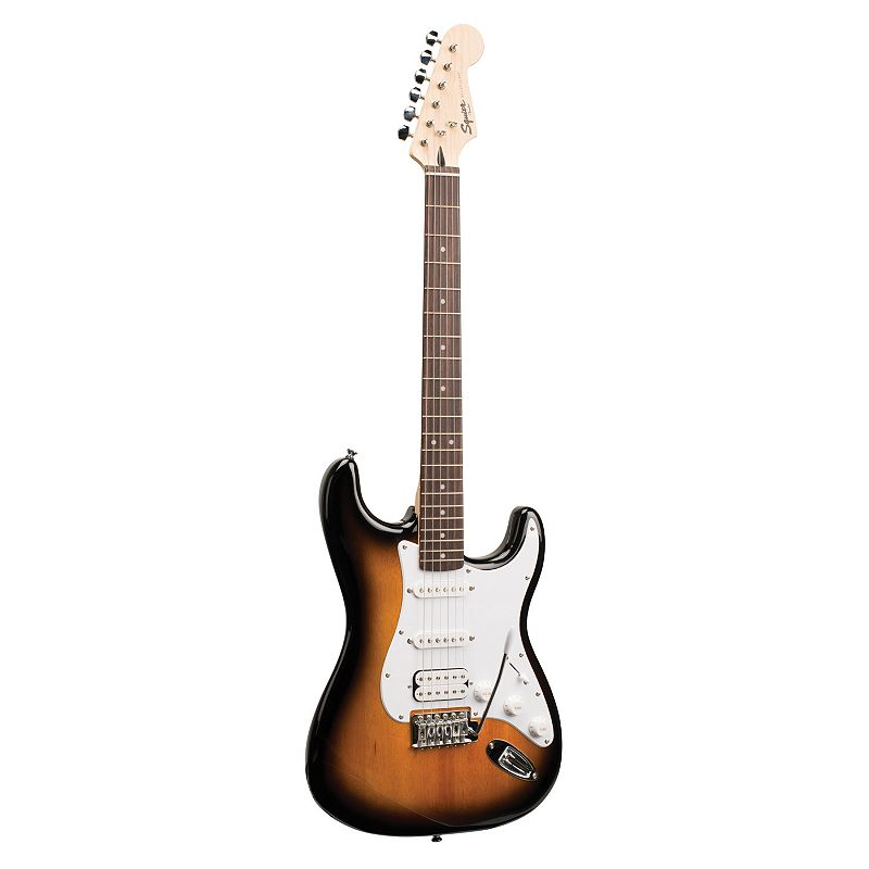 Squier by Fender Bullet Strat Electric Guitar with Tremolo HSS