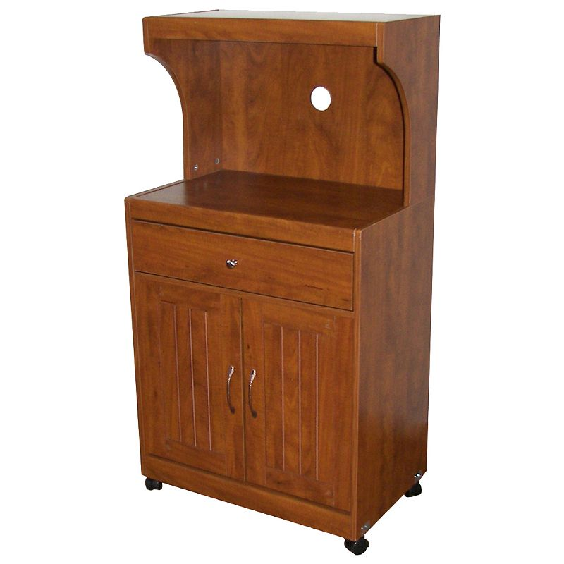 Countertop Microwave Kohls : microwave cart cabinet brown microwave cart cabinet brown add storage ...