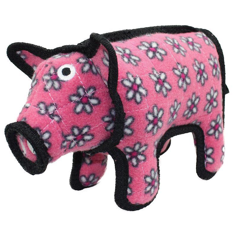 Tuffy Barn Yard Pig Dog Toy