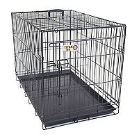 Majestic Pet 42-in. Folding Pet Crate