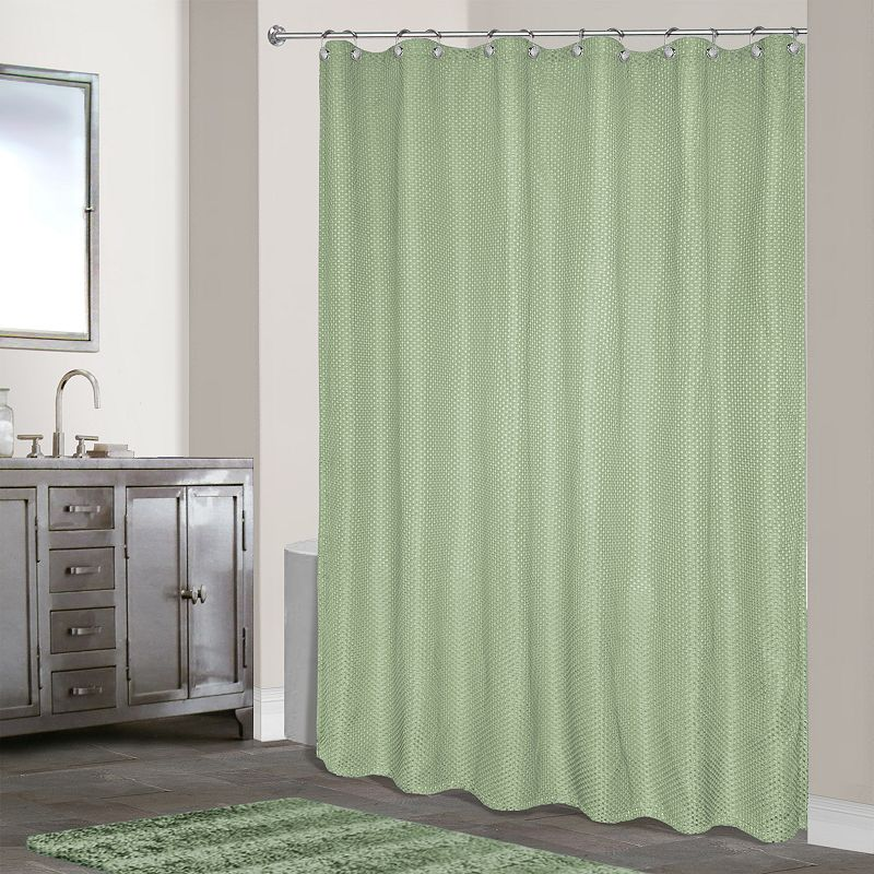 hamden fabric shower curtain. Black Bedroom Furniture Sets. Home Design Ideas