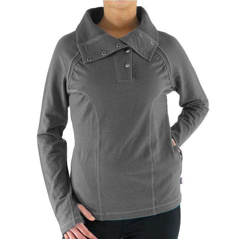 Ryka French Terry Snap Pullover - Women's