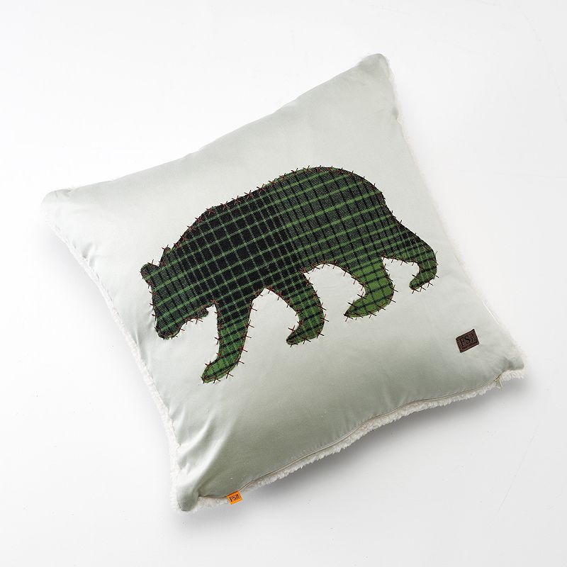 Field and Stream Bear Decorative Pillow