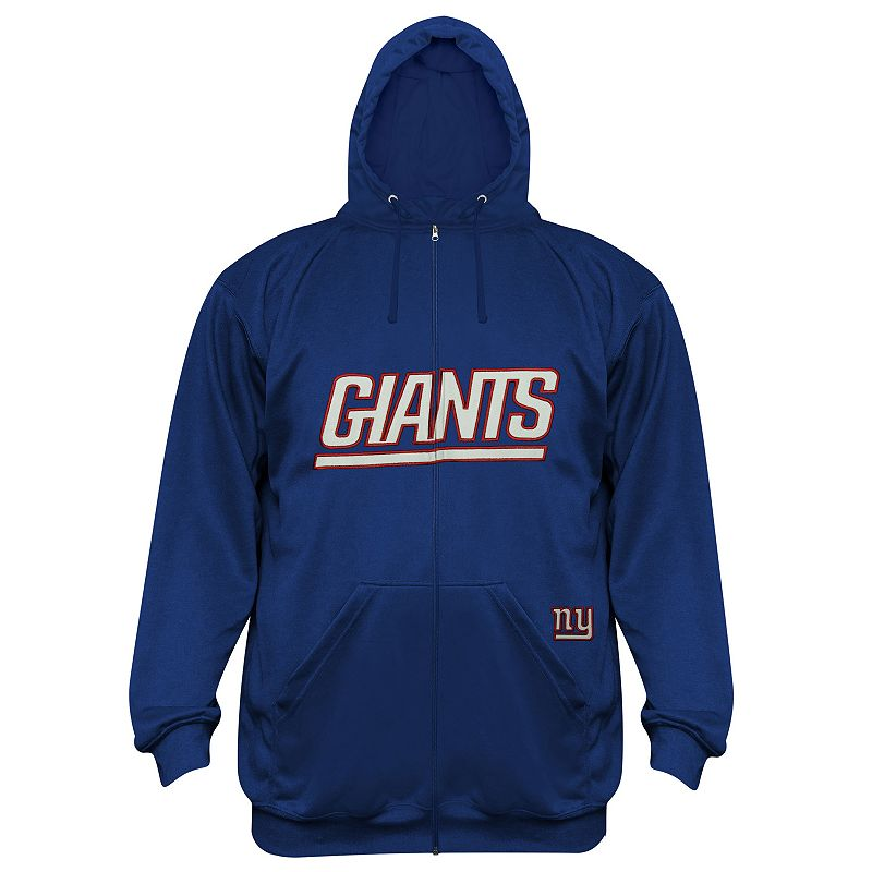 Big & Tall New York Giants Delay Fleece Hoodie