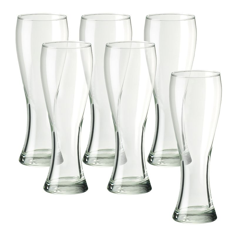 Amici by Global Amici Pantheon 6-pc. Tall Beer Glass Set