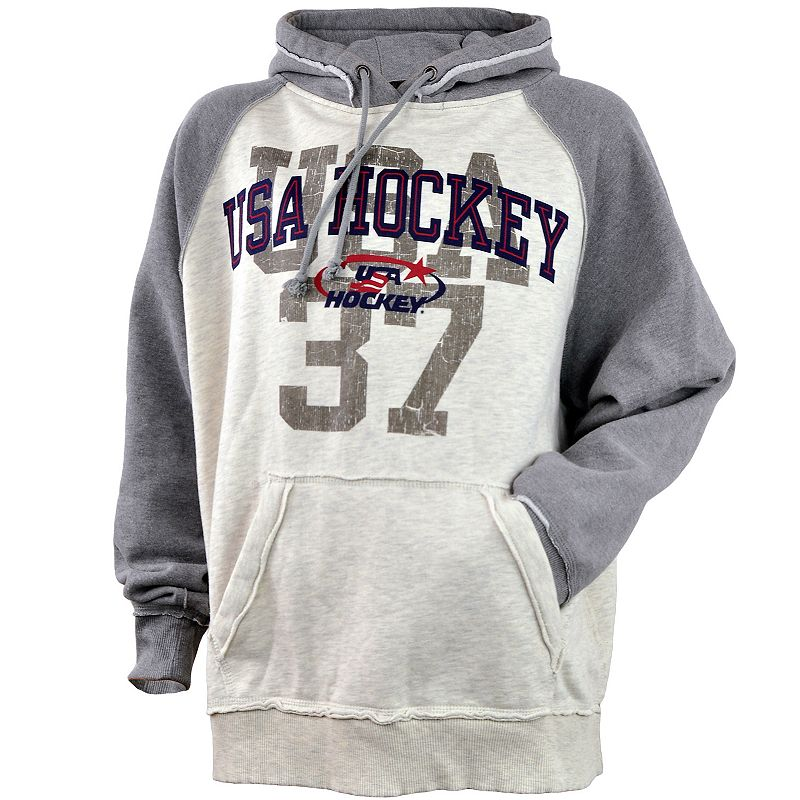 Men's USA Hockey Vintage Fleece Hoodie