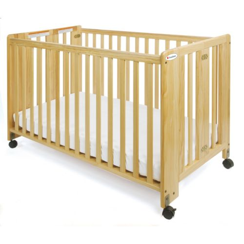 Foundations Folding HideAway Fixed Side Crib