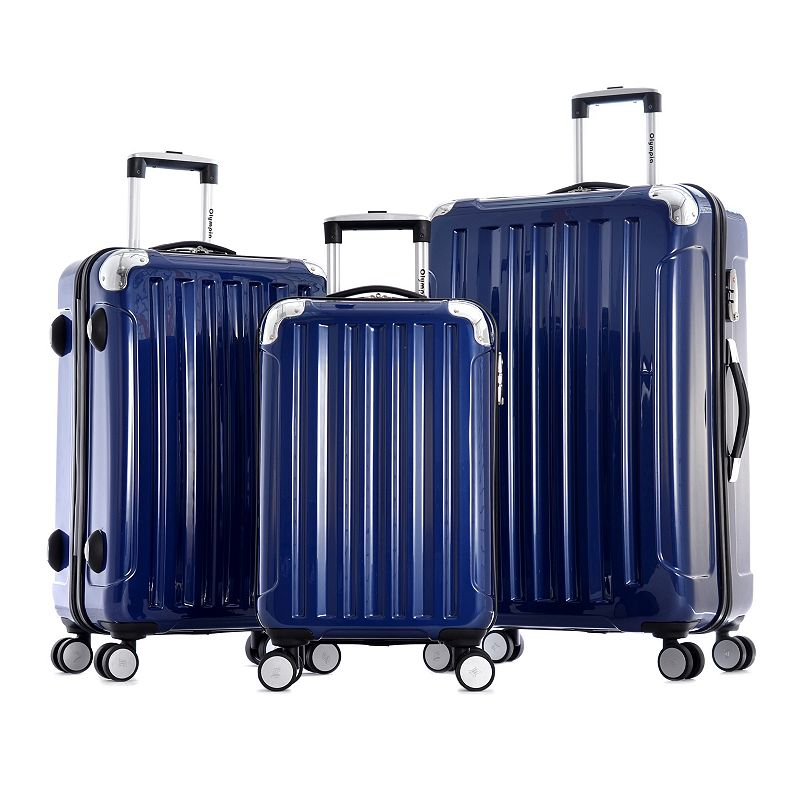 Olympia Stanton 3-Piece Hardside Spinner Luggage Set