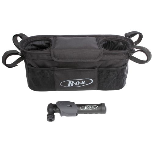 BOB Handlebar Console & Tire Pump Set