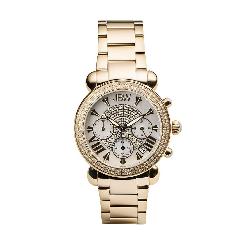 JBW Women's Victory Chronograph Watch
