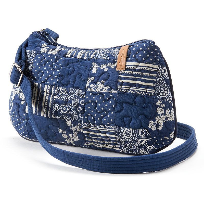 Donna Sharp Anne Quilted Patchwork Crossbody Bag