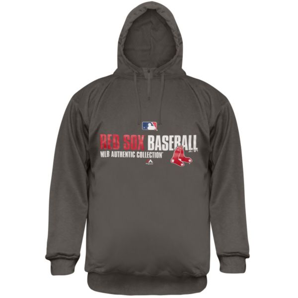 Big & Tall Majestic Boston Red Sox AC Team Favorite Therma Base Performance Fleece Hoodie