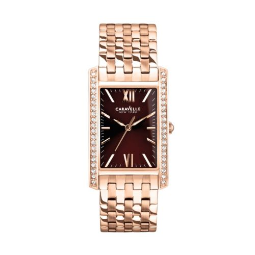 Caravelle New York by Bulova Women's Crystal Stainless Steel Watch