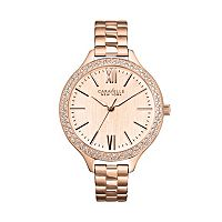 Caravelle New York by Bulova Women's Crystal Stainless Steel Watch - 44L125
