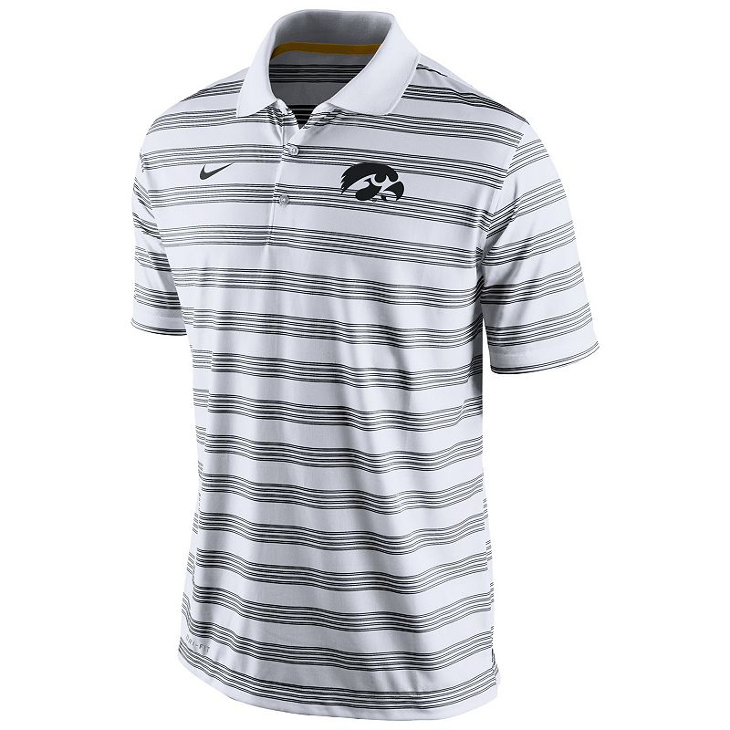 Men's Nike Iowa Hawkeyes Pre-Season Dri-FIT Performance Polo
