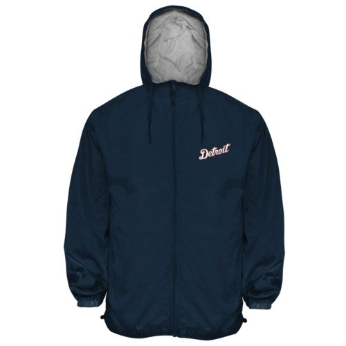 Big & Tall Detroit Tigers Hooded Wind Jacket