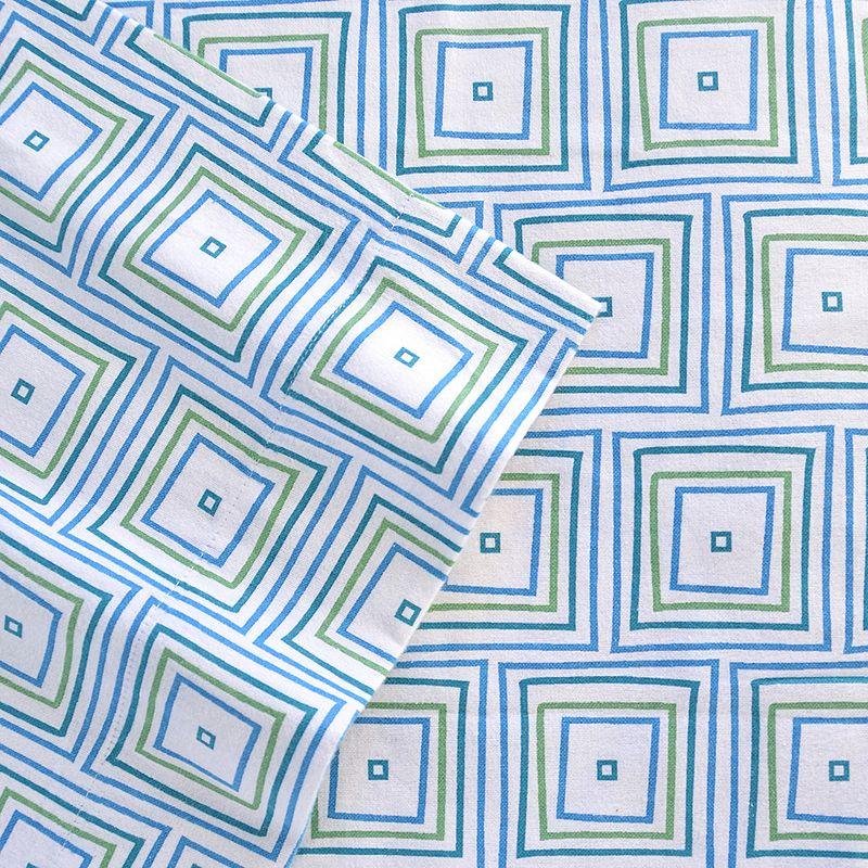 Celeste Home Matrix Flannel Sheet Set - Queen