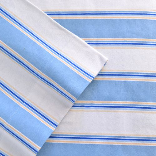Celeste Home Stripe Flannel Sheet Set - XL Twin