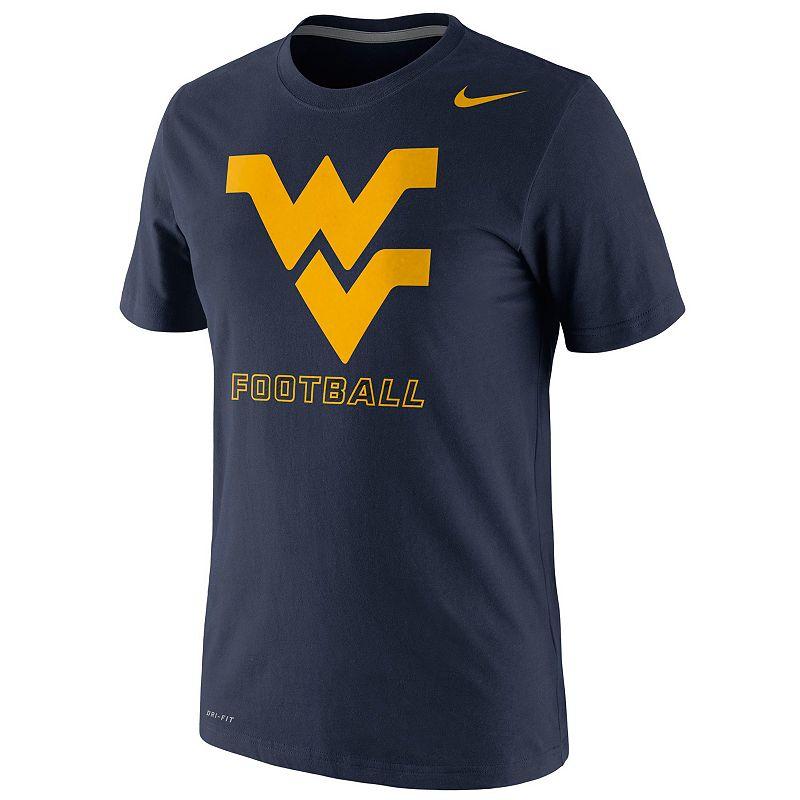 Men's Nike West Virginia Mountaineers Football Practice Legend Dri-FIT Performance Tee