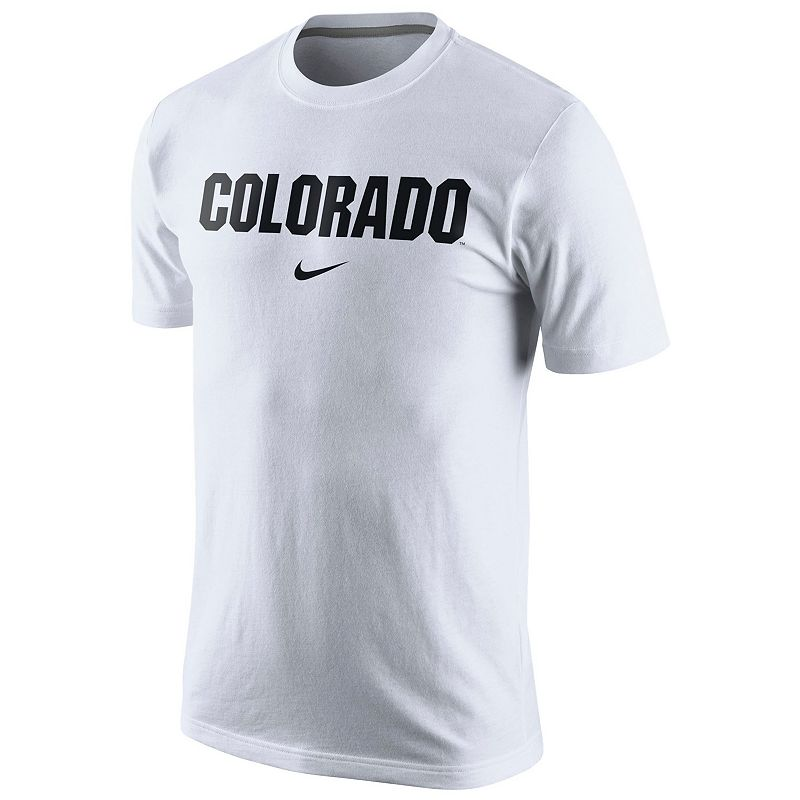 Men's Nike Colorado Buffaloes Wordmark Short-Sleeve Tee