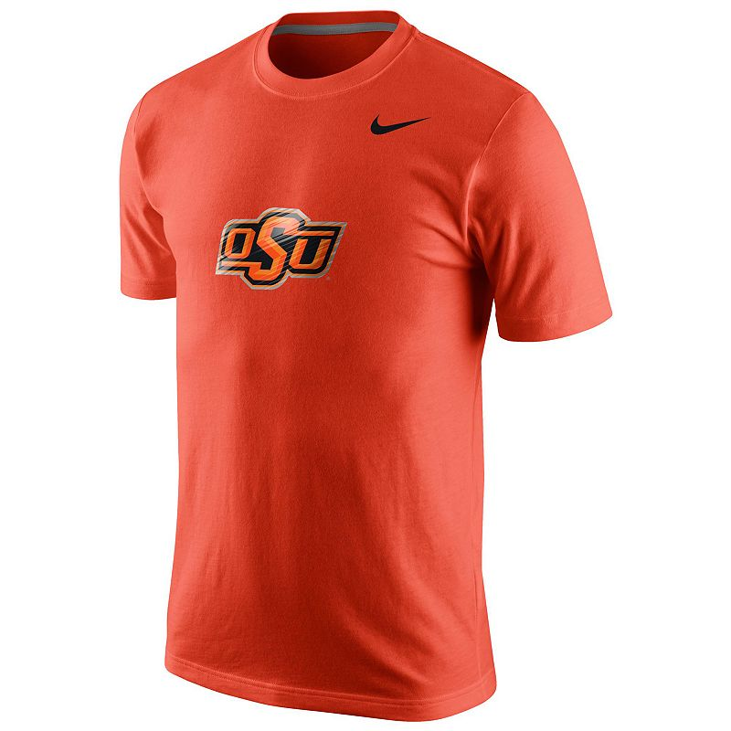 Men's Nike Oklahoma State Cowboys College Logo Tee