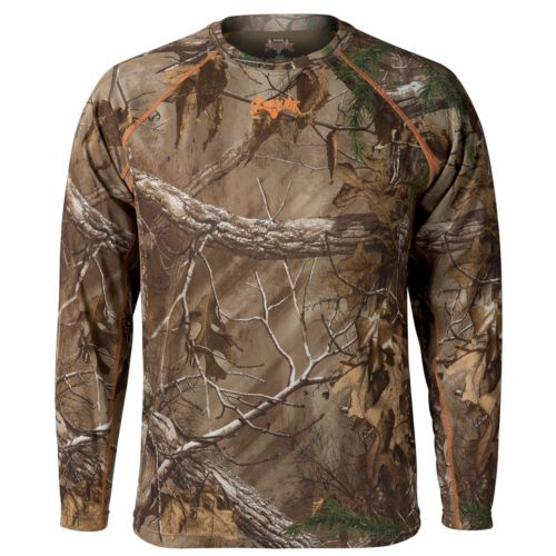 Men's Scent-Lok BaseSlayer Lightweight Mockneck Tee - Men