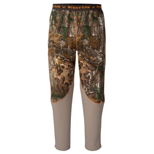 Men's Scent-Lok Realtree BaseSlayers Midweight Pants