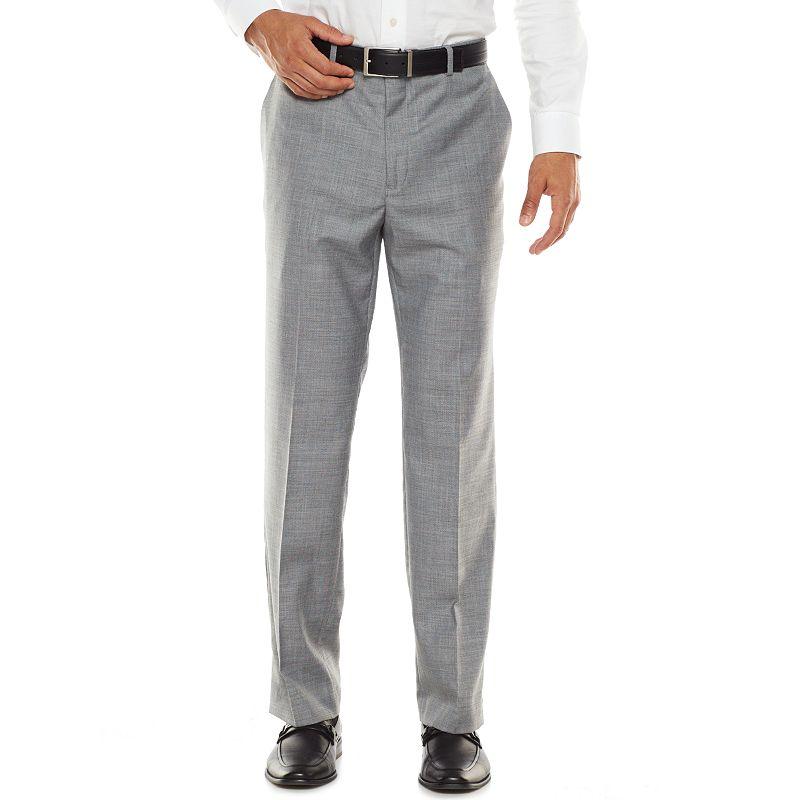 Men's Apt. 9® Modern-Fit Stretch Sharkskin Dress Pants