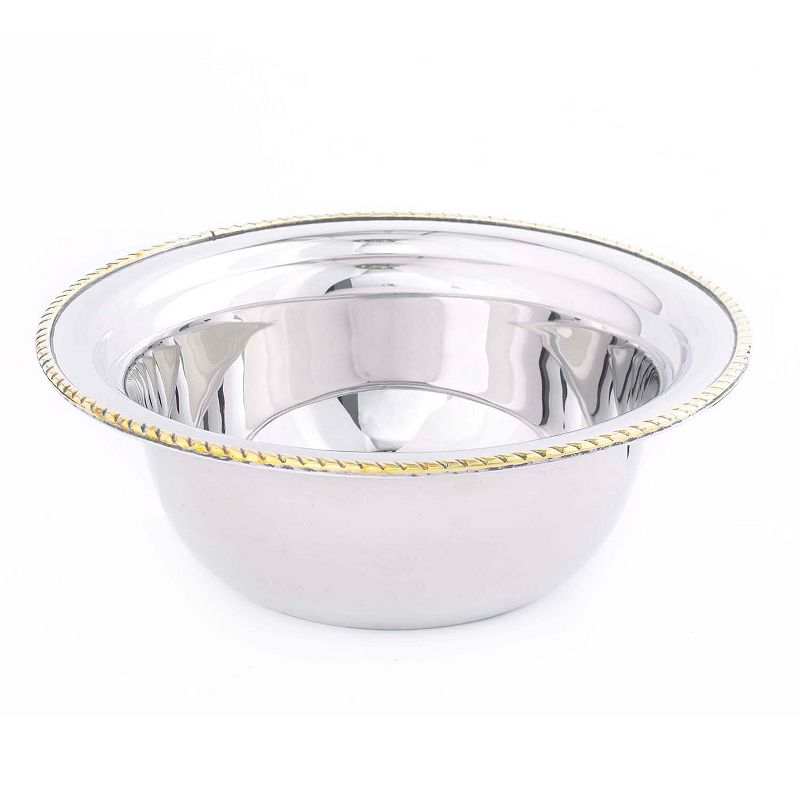 Old Dutch 3-qt. Round Stainless Steel Chafing Insert Food Pan