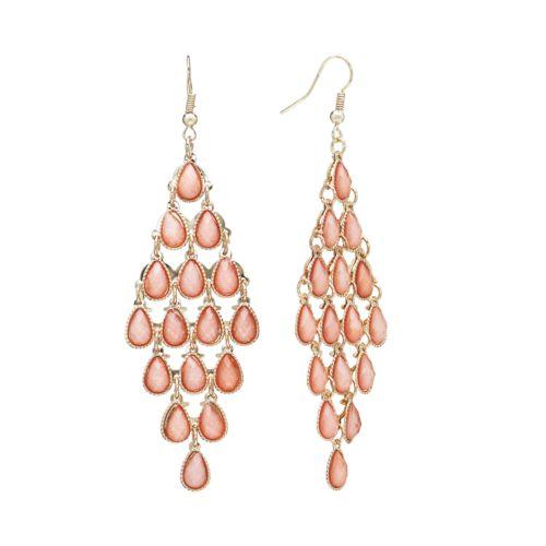 Candie's® Glitter Kite Earrings