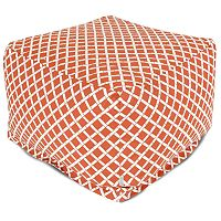 Majestic Home Goods Geometric Indoor Outdoor Large Ottoman
