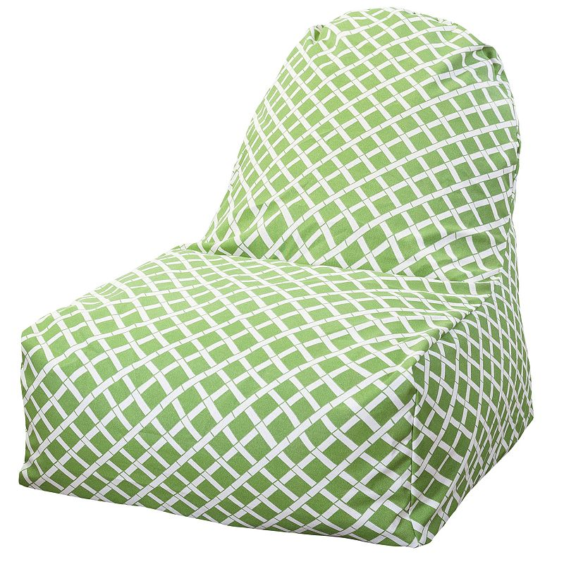 Majestic Home Goods Geometric Indoor Outdoor Kick It Chair
