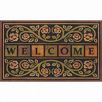 Apache Mills Masterpiece Ricardo Floral Doormat - 22'' x 36''