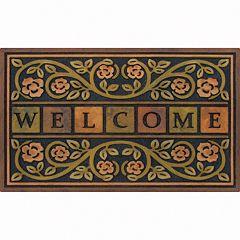 Apache Mills Masterpiece Ricardo Floral Doormat 22'' x 36''