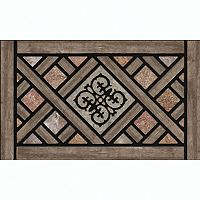 Apache Mills Masterpiece Rustic Lattice Doormat - 18'' x 30''