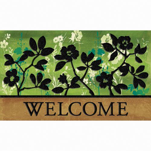 Apache Mills Masterpiece Garden Shadows Floral Doormat - 18'' x 30''